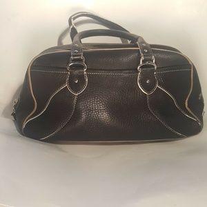 Cole Haan Handbag Satchel Bag Black Leather